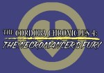 Cordoba Chronicles 4 logo (purple/yellow)