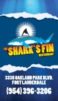 The Shark's Fin Restaurant (business card)